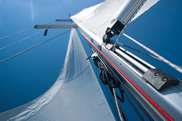 Use Boeshield T-9® on sailboats to protect metals against rust, corrosion and deterioration, both above and below deck.