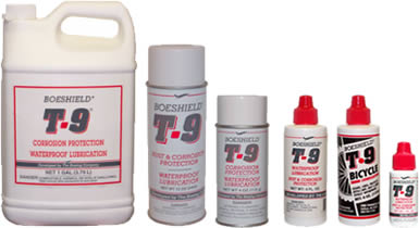 Boeshield T-9® Rust and Corrosion Inhibitor and Waterproof Lubricant
