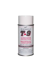 Boeshield T-9® Waterproof Lubrication and Rust and Corrosion Protection 4 oz. Aerosol Can