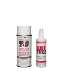 Boeshield T-9® and RustFree™ Cleaning and Rust Prevention Kit – Small Two Pack