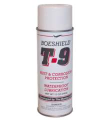 Boeshield T-9® Waterproof Lubrication and Rust and Corrosion Protection 12 oz. Aerosol Can